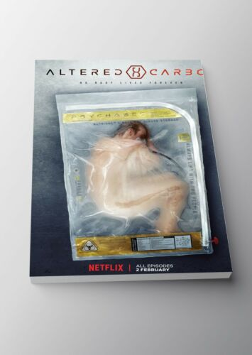 Altered Carbon TV Show Poster or Canvas Art Print A3 A4 Sizes