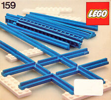 New LEGO 4.5V Train Tracks 159 Crossover Straight Rails  Seaed Ships World Wide