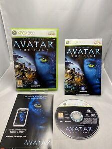 James-CAMERON-039-S-AVATAR-IL-GIOCO-Microsoft-Xbox-360-2009-completo-di-manuale