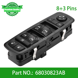 Front Left Driver Master Window Switch For Dodge Durango 68030823AB 68030823AC