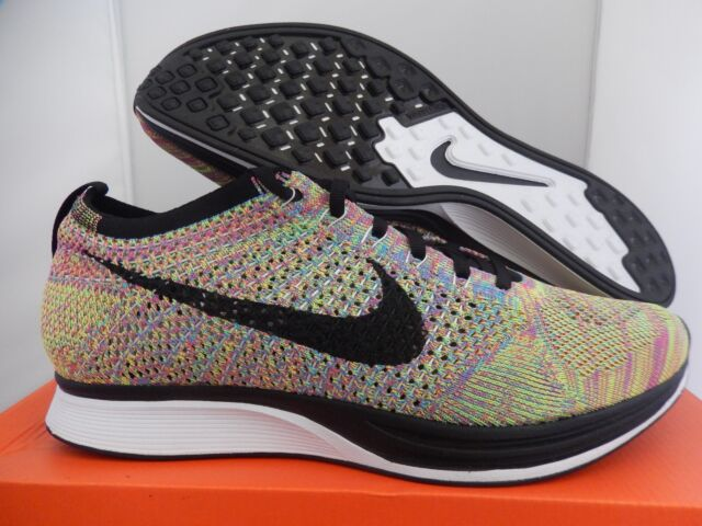 buy popular 1856c 94233 NIKE FLYKNIT RACER MULTI COLOR SZ 6.5 MENS-WOMENS SZ 8  526628-004