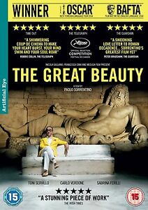 THE GREAT BEAUTY       BRAND NEW SEALED GENUINE UK DVD