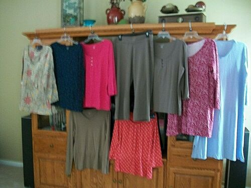 IEUC LANDS END XL WOMENS LOT NIGHTGOWN TOPS SHIRTS