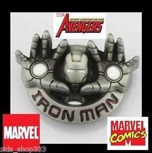 IRON-MAN-hands-blast-Blaster-Metal-Belt-Buckle-Cosplay-great-gift-US-seller
