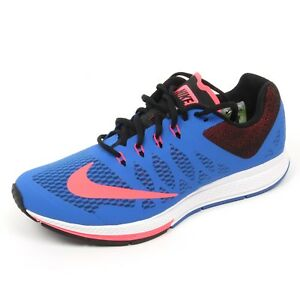3710bc29803 C5274 sneaker uomo NIKE AIR ZOOM ELITE 7 blu cobalto shoe man