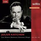 Julius Katchen Plays Liszt, Brahms, Beethoven, Schumann, Chopin (CD, Mar-2014, 2 Discs, Audite)