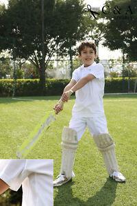 Kids-Boys-Girls-Short-Sleeve-Cricket-Top-Polo-Shirt-amp-Cricket-Pants-Sports-Suit
