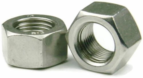 "Qty 10 Hex Nut 14"" UNC Imperial Marine Grade Stainless Steel SS 316 Free Post"