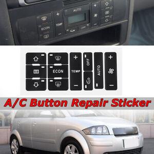 A-c-pulsante-riparare-Decal-Dash-AC-Switch-Sticker-ricambio-per-AUDI-A2-A3-8L