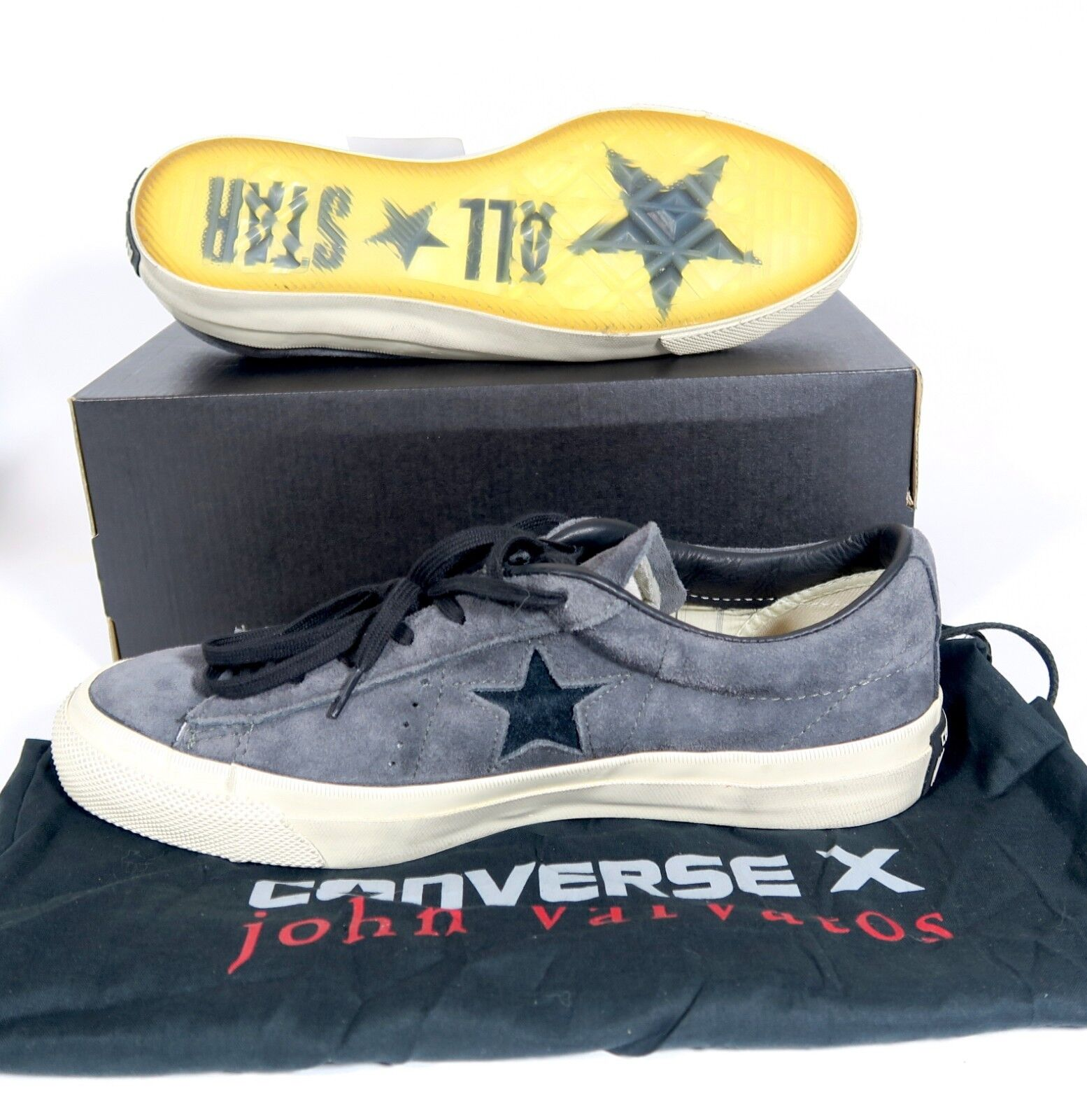 Converse One Star X John Varvatos 145381c Low Top Distressed 7.5, 9, 9.5, 10