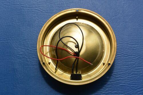 "LED Dome light 12V Brass Interior 6.5/""//168mm Cool Boat Yacht Caravan Horsebox"