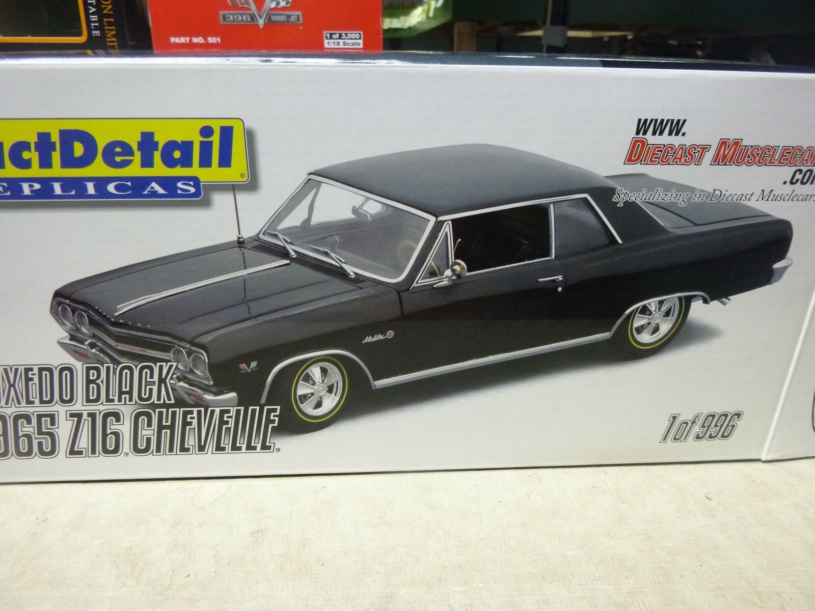 1 18 DIE CAST-1965 CHEVELLE Z16  396    S N 203   LANE EXACT DETAIL