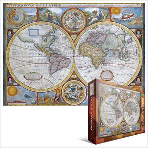 image is loading jigsaw eg60002006 eurographics puzzle 1000 pc antique world