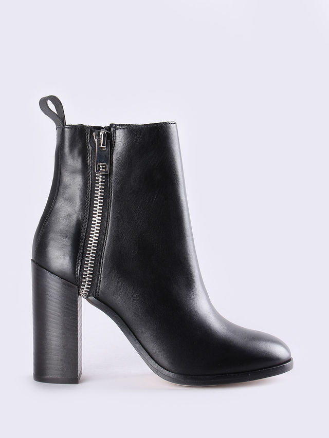 D-Zippher HA, Ladies Diesel Just Above Ankle Boots. Cheapest Price Online