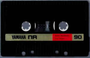 Yamaha-NR-90-Blank-Audio-Cassette-Tape-1982-Type-I-Normal-Bias-Made-in-Japan