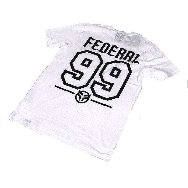 Federal BMX Baseball White Tee