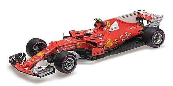 FERRARI sf70-h N 7 4° AUSTRALIA GP FORMULA 1 2017 (Kimi Räikkönen)