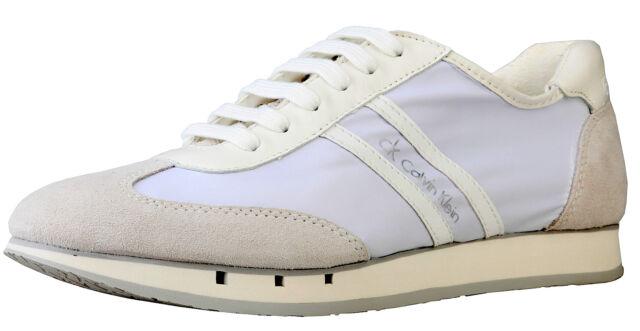 Shoes Calvin Klein White Shoes Man