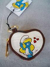 PETRA PORTAMONETE I PUFFI THE SMURFS COIN PURSE I PUFFI PUFFETTA  HOY COLLECTION