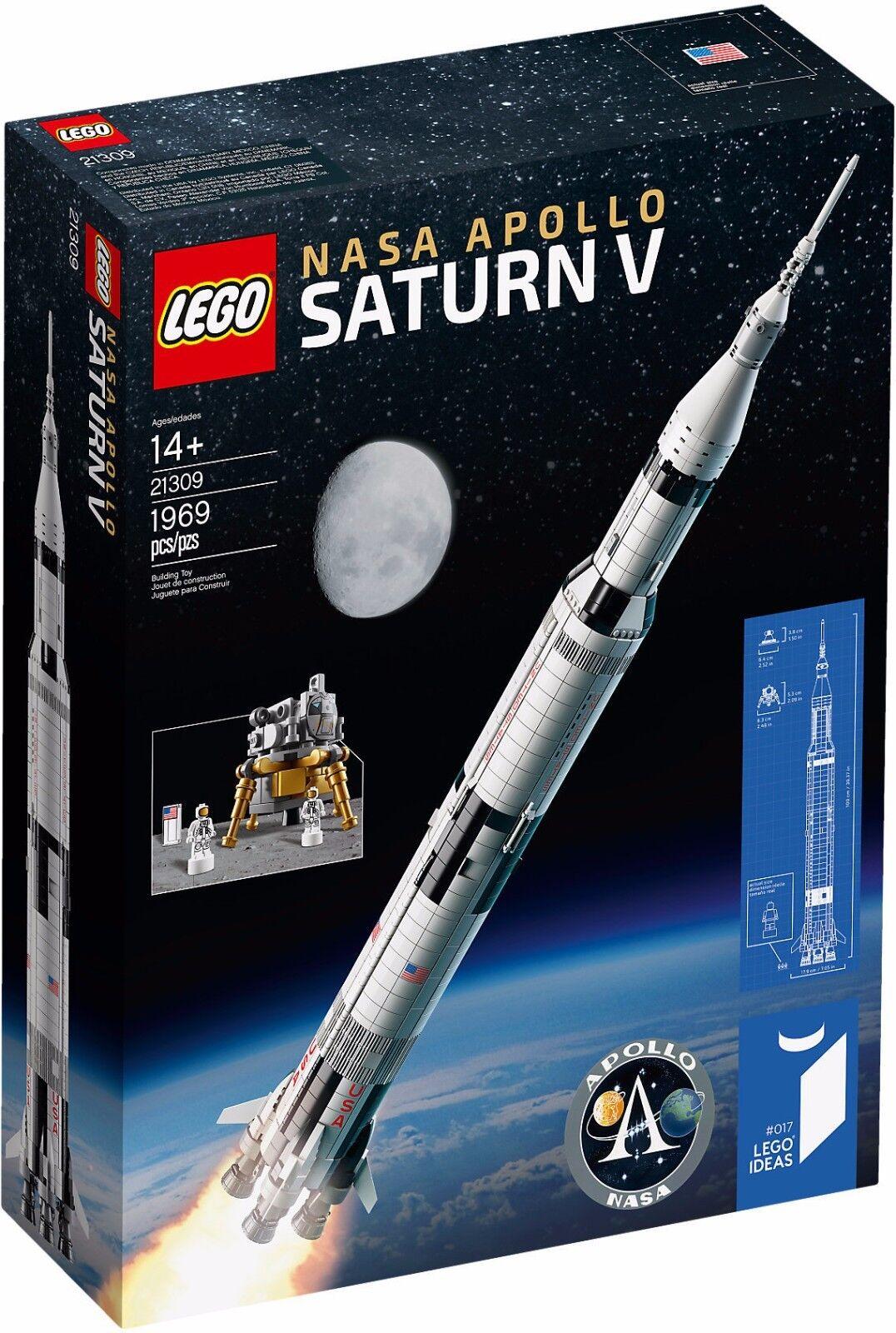 LEGO IDEAS 21309 21309 21309 SATURN V APOLLO NASA NUOVO NEW 736018