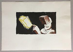 Dirk-Larsen-Blind-man-s-vision-Farblithographie-1986-handsigniert-und-dat