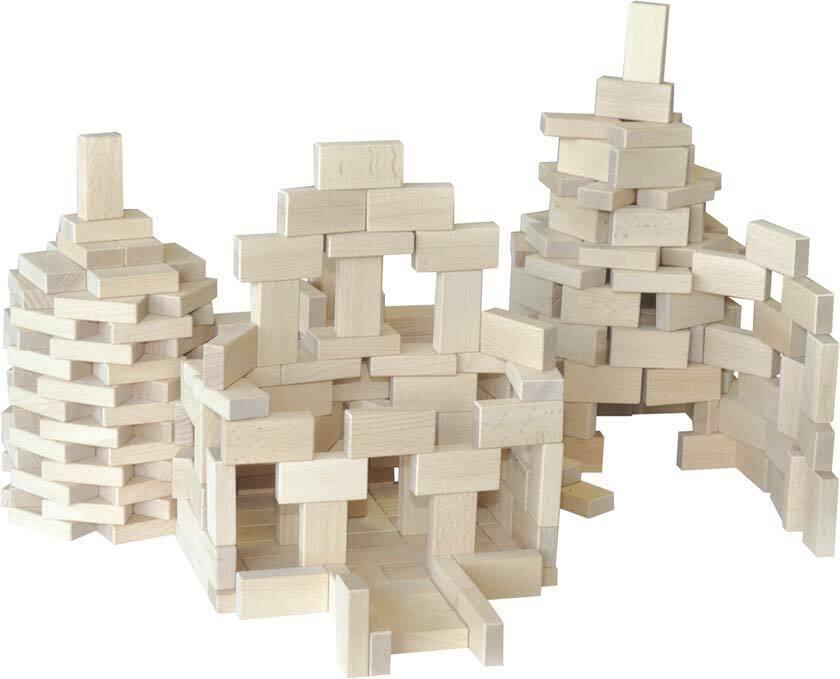 Fröbel Holzbausteine - Set 520
