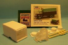 SMC-635 1938 GMC Truck Box Van  HO-1/87th Scale Clear Resin Kit  (unfinished)