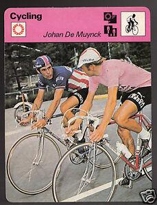 JOHAN-DE-MUYNCK-with-Michel-Pollentier-Cycling-1978-SPORTSCASTER-CARD-47-04