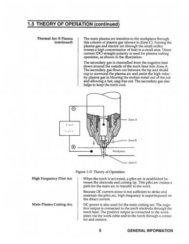 Business & Industrial Service & Parts Manual *340 Thermal Dynamics ...