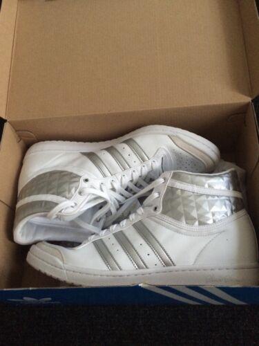 Up Turn Getragen 2 Adidas Gr 1x 1 Hi schuhe Sleek 8 silbermetallicfarb Weiß xqHXv7H