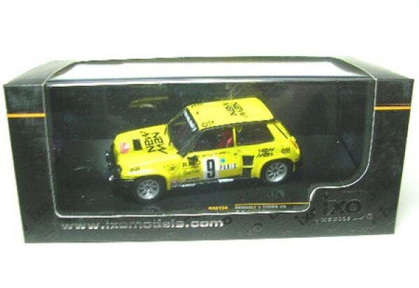 Renault 5 Turbo No.9- Course Monte Carlo 1982