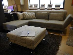 Ausstellungsstuck Sofa Moule Der Fa Bruhl Bezug Stoff Farbe Grau Ton Ebay