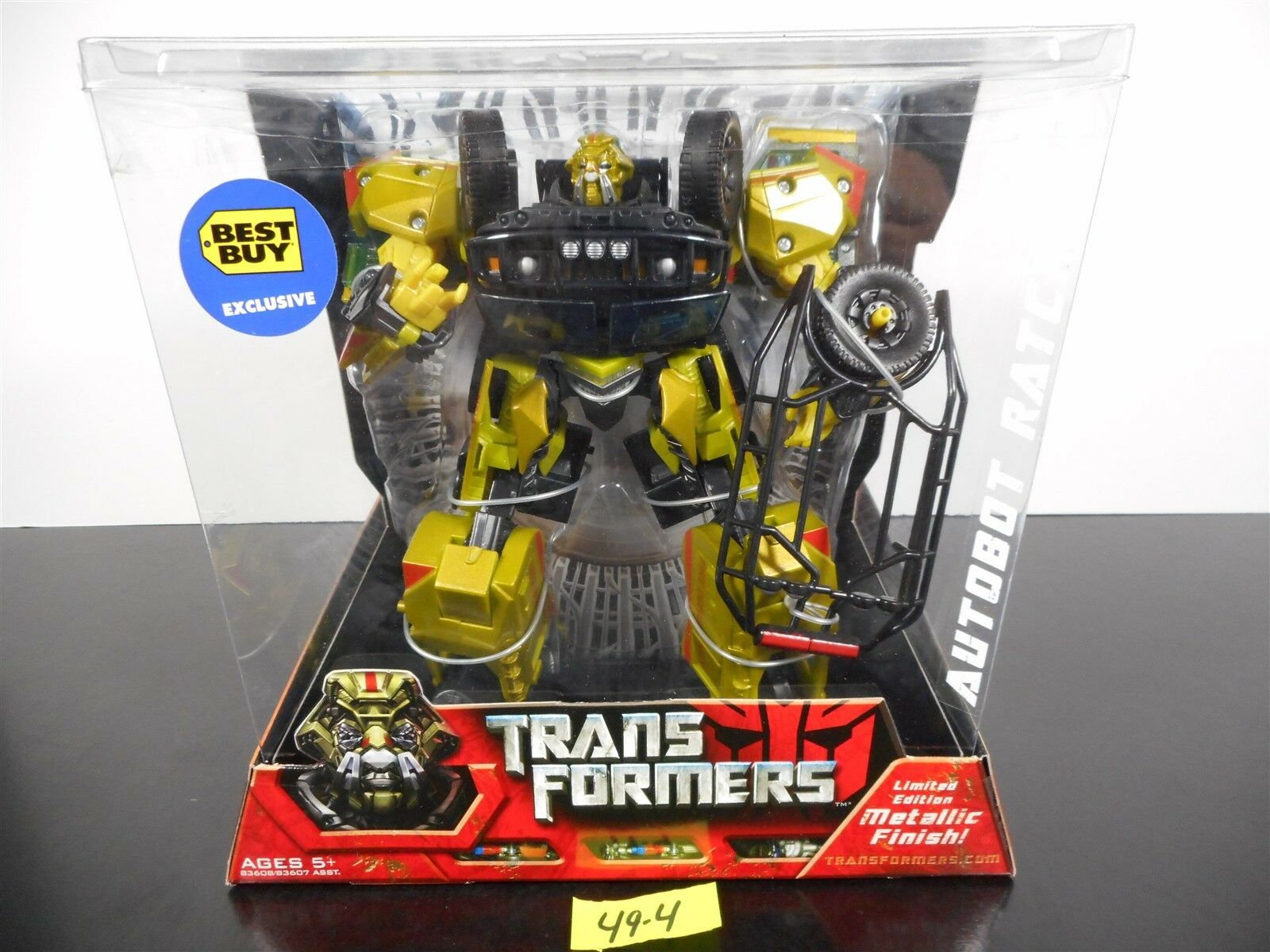 Transformatoren ratchet limited edition metallic - finish Beste buy exklusive 49-4