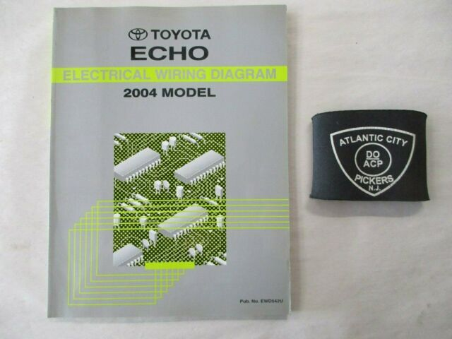 2004 Toyota Echo Electrical Wiring Diagram Service Manual