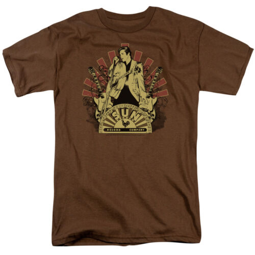 Sun Records ELVIS RISING Licensed Adult T-Shirt All Sizes