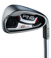 Custom Ping G20 White Dot Iron Set 4-uw Steel Cfs Regular Flex Irons +1/2