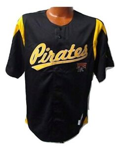 Pittsburgh Pirates MLB Baseball Jersey Button Down Authentic Team Jersey