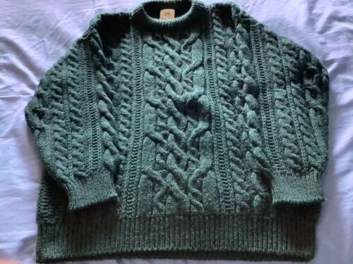 Wool fisherman sweater