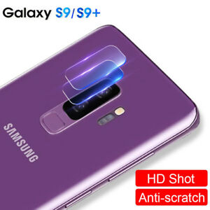 wholesale dealer f3439 67cfa Details about Dooqi 9H Camera Lens AGC Tempered Glass Protector For Samsung  Galaxy S9 Plus /S9
