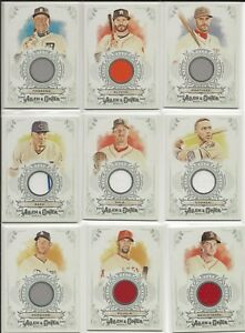 2018-Topps-Allen-amp-Ginter-Full-Size-Relics-B-1-20-CHOICE-you-pick-make-lot