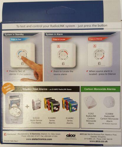 AICO Ei450 RADIOLINK CONTROLLER FOR SMOKE//HEAT//CARBON ALARMS