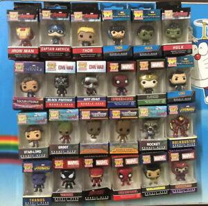 Marvel-Character-Keyring-Groot-Thor-Hulk-Loki-Figure-Funko-POP-Pocket-Keychain