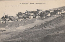 QUEYRAS 30 saint-véran coll jean et peyrot timbrée 1908