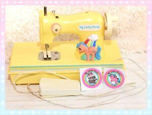 ❤️My Little Pony MLP G1 Vtg 1984 Sewing Machine Firefly Durham Industries❤️