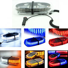 12V 240 LED Bar Roof Magnetic Emergency Warning Flash Strobe Multi-color Light