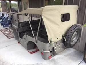 Willys Jeep Mb Complete Master Body Kit Military Jeep Ebay