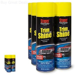 Stoner Car Care 91034-6PK Trim Shine Protectant Vinyl Coating 12 fl. oz...