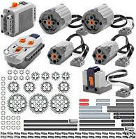 Lego Power Functions Pro (technic,motor,gear,pin,axle,bush,remote,receiver,car)