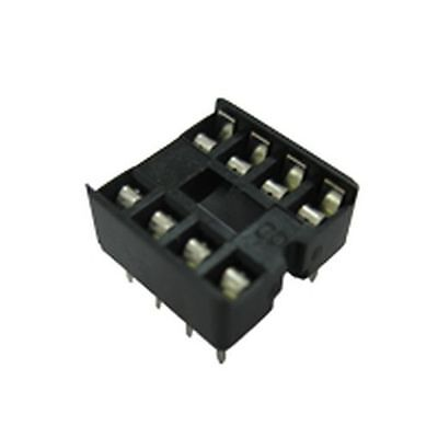 Low Profile DIL Dual in Line IC Socket 16 Pin (10 Pack)