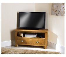 Wiltshire MODERNO ROVERE MASSELLO TV PLASMA LCD Angolo Tavolo con 2 cassetti tavolo unità